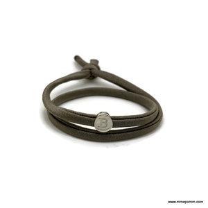 Armband Vonk olijf incl. 1 slider